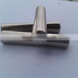 Grooved pins, half length taper grooved DIN1472