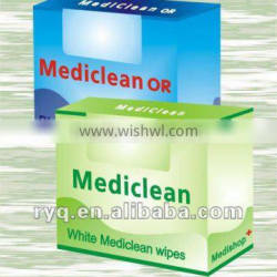Replace Dupont Sontara mediclean and mediclean OR and Kimberly Teri HYDROKNIT Medical hand clean wipes