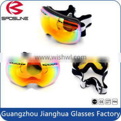 Newest design helmet compatible anti-scratch spherical lens snow ski goggles