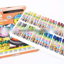Kids stationery 36 colors wax crayon