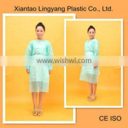 PP Nonwoven disposable isolation gown with belt