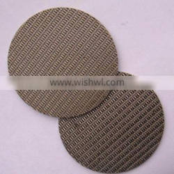 ISO9001:2008 stainless metal sintered/sintering filter plate