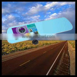 5.0 inch rearview mirror with parking camera