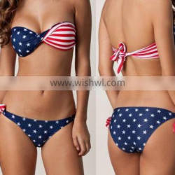 hot sexi photo image Twisted USA girl sexy image Swimwear Swimsuit in Stock