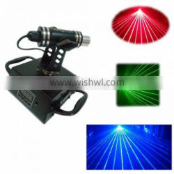 360 degree moving head dj stage used small red laser light
