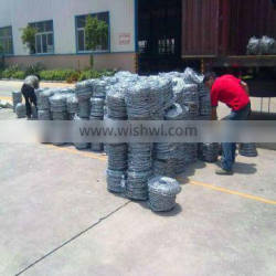 Valor Manufature Barbed iron wire & Barbed wire&PVC barb wire