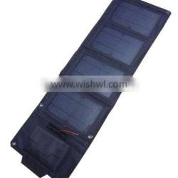 Black Portable Solar Bag