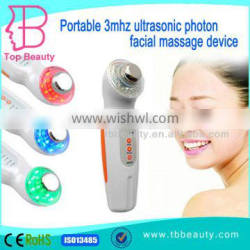 T&B Ultrasonic Photon Beauty Skin Care Devices ultrasonic facial massager with competetive price