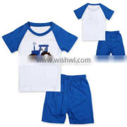 S16041A Wholesale Bamboo Cotton Baby Children Pajamas