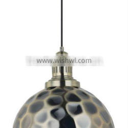 Copper Antique Lamp , Hemispherical Hanging Lamp