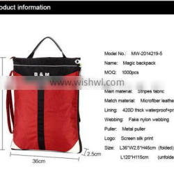 fashion mini style travel school business bags simple backpack easy to carry