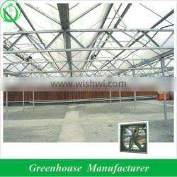 glass greenhouse cooling system
