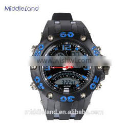 2015 Newest Middleland(M-6015) analog-digital LED display sporty watch
