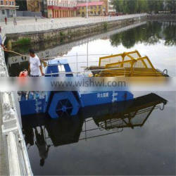 Aquatic weed harvester ship/water hyacinth and reed cutting ship/trash cleaning boat/dredgers for sale