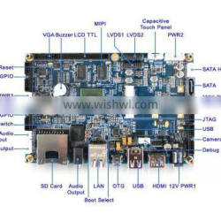 Excellent Performance Freescale Cortex-A9 Android/Linux ARM Double Core Board