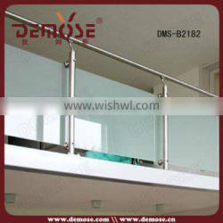 galvanized steel pipe balcony railing height and modern design for balcony railing