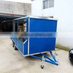 mobile snack food cart kiosk van trailer for sale XR-FV450 C Supplier's Choice