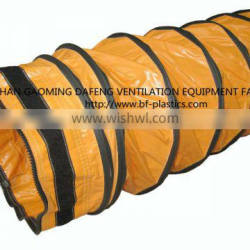 Wear and tear proof insulated flexible ducts for air conditioning