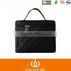 stock quilted nylon promotional cosmetic bag series for wholesale