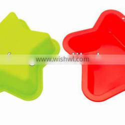 5 Star shape Silicone Mini cake moulds muffin baking moulds
