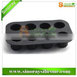 Eco-friendly 8-cup Silicone Muffin Pan