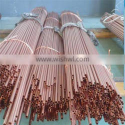 High quality straight copper pipe price per meter