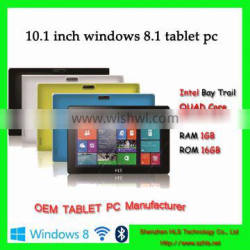 10inch bluetooth 4.0 wifi 3g windows8 tablet pc with intel cpu quad core slim tablet