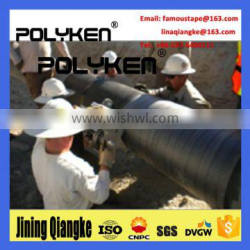 PolykenGTC pp woven butyl rubber pipe wrap tape for underground pipeline