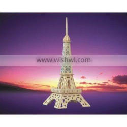 Wooden Eiffel Tower Toys