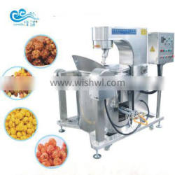 professional industrial & commercial caramel flavored mushroom gas popcorn machine on hot sale by factory in cheap price