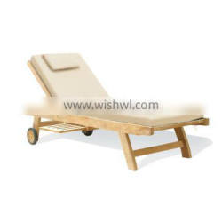 wholesale china manufacture Modern teak wood daybed