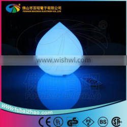 China Manufactuer RGB Living Color Changing heart Shape LED Table Lamp