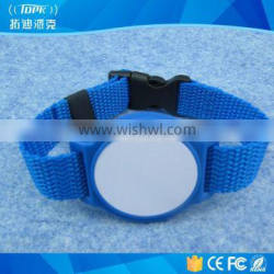 hospital patient id nfc cheap custom wristbands for Time Attendance
