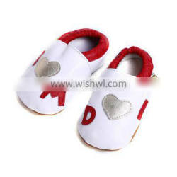 spring beautiful white and red lovely print comfortable shoes baby girl shoes beautiful casual shoes for girls