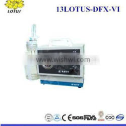 13LOTUS-DFX-VI New Model /Hot sales! battery portable emergency suction unit (CE approved)