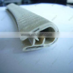 Customed doors sunroof boat windshield glass bottle bathtub cabinet door made in china rubber seal