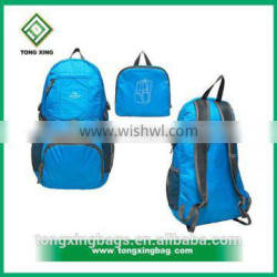 China supplier nylon&polyester backpack
