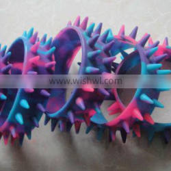 halloween gifts silicone bracelet with spike