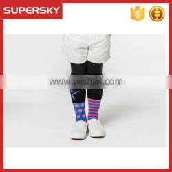 V-237 Fashion children soft pretty boot socks with stripe star cute boot cuffs