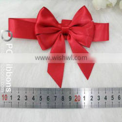 Fashion new style pre tied stretch bow