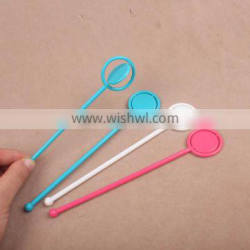 Disposable revolve cocktail stick spinning plastic stirrers