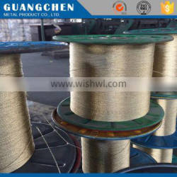 copper wire rope coil for washing