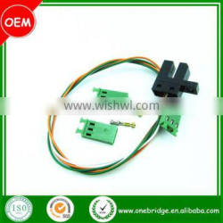 167021-2 Brass auto receptacle contact terminals wire harness