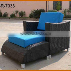 Fashionable Sectional Lounge Sofa Chair Footstool Cover