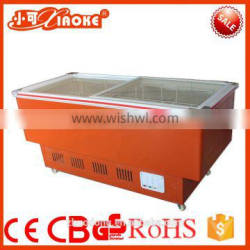 DG-160 new style deep energy drink fridge Open Chiller for Supermarket and Convenience Store Remote Type