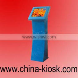 Internet kiosk with TFT LCD touch screen free standing kiosk