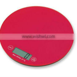 glass top kitchen scale 5000g/1g