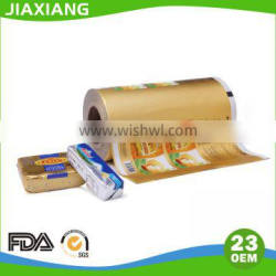 8011 alloy food packaing aluminium foil Margarine butter wrapping paepr rolls