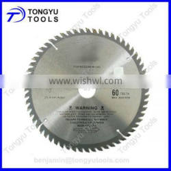 tungsten carbide tipped circular saw blade for wood