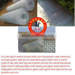 high quality 5% Galvalume 60 x 80 (2.0) gabion box for dam